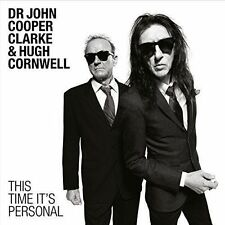 Dr John Cooper Clarke & Hugh Cornwell This Time It's Personal CD 2016