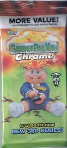 Case Hit 2020 Garbage Pail Kids Chrome Plate/Auto/C Name Hot Pack ADAM BOMB