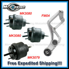 D003 For 05-07 Ford Five Hundred Mer Montego 6speed AUTO Trans & Motor Mount 4pc
