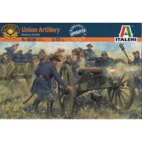 ITALERI 1/72 FIGURES AMERICAN CIVIL WAR ACW UNION ARTILLERY