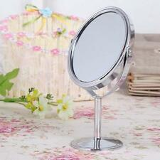 Women Makeup Cosmetic Mirror Double Sided Normal Magnifying Stand Mirror Gift U#