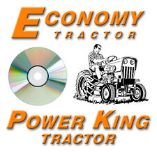 New Power King Economy Tractor Master Repair CD / DVD, Lots of Information!
