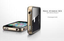 SGP Bumper Neo Hybrid EX cover custodia per iPhone 4 4S Champagne Gold