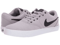 Men's Nike SB Check Solar Canvas Premium Sneakers Atmosphere Grey/Black Size 13