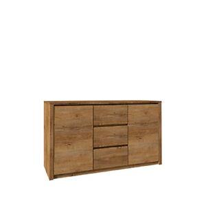 Kommode  Sideboard  Anrichte  Montana K2DP-000  Holz: Eiche