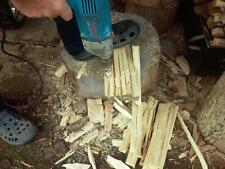 Log Splitter Screw Cone Kindling Firewood Splitter for Electric Drill Log - 38mm