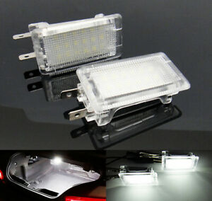 2x LED Interior Glove Box Roof Trunk Boot Light Opel Vauxhall Astra Corsa Vectra
