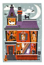 Geschirrtuch, Spooky House Halloween von Ulster Weavers
