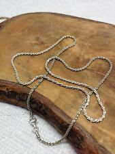 """925 Sterling Silver Diamond Cut twisted Rope Chain 20"""" 3.53 grams"""