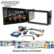Kenwood DDX375BT Double Din CD DVD Player Bluetooth XM Radio Install Package