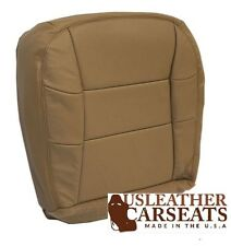 1997 1998 1999 Lincoln Navigator Driver Side Bottom LEATHER Seat Cover TAN