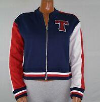 NWT Women's Tommy Hilfiger Varsity Jacket M L XL XXL