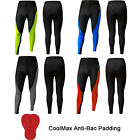 Mens Cycling Tights / Trousers Cycle Shorts Tights Leggings ANTI-BAC PADDED