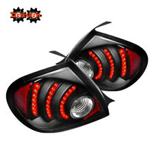 Rear LED Tail Light Lamps Clear Lens Black Housing Red LED 03-05 Dodge Neon
