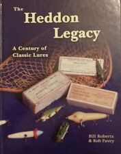 New listing The Heddon Legacy A Century of Classic Lures by Bill Roberts Robert Pavey
