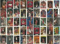 MICHAEL JORDAN Chicago Bulls You Pick Cards Choose From 250 Card Lot Inserts