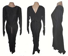 Dress, Night Moves, Evening Shirring Rhinestones Elvira Beautiful shapely 9/10