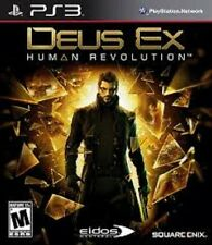 DEUS EX HUMAN REVOLUTION PER PLAYSTATION 3 PS3 NUOVO SIGILLATO