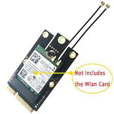 M.2(NGFF) WIFI WLAN Card Module to Mini PCI-E Express Adapter Converter&Antenna
