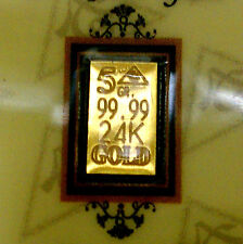 x10 ACB 24k 5Grain Gold with COA bars 99.99 fine Gold bullion INVESTMENT
