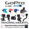 GENUINE GoPro Tracking Mounts - JAWS/ SUNCTION CUP/ HELMET MOUNTS/ SWIVEL