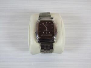 Vintage 70s Casio analogue & digital wristwatch