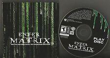 Enter the Matrix Atari 3 Discs & 1 Play Disc VG++ to EX condition