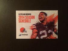 Cleveland Browns 2014 NFL pocket schedule - University Hospitals