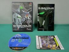 PlayStation2 -- G-Saviour -- included leaflet. PS2. JAPAN GAME. 31273