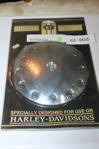 12-002 EVOLUTION Round Air Cleaner Insert ALLEN BOLT DESIGN 4 Harley Davidson®