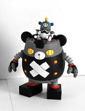 "Panda Z - Black Ham Gear - Robonimal Megahouse - Mazinger - 5.5"" - Street robot"