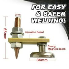 US Metal Welding Magnet Head Magnetic Welding Support Ground Clamp Without Tail