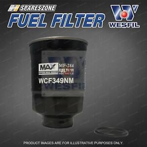 Wesfil Fuel Filter for Nissan Navara D40 D22 Turbo Diesel 4Cyl YD25 2.5L TD