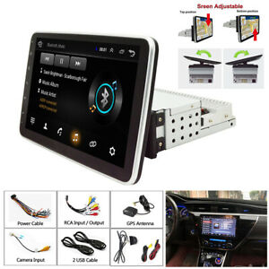 10 INCH Android 9.1 Car Radio Single 1 DIN Stereo Head Unit GPS Navi MP5 1+16G