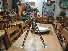 INDUSTRIAL DINKY TRIPOD SPOTLIGHT HEIGHT 75CM  FLOOR OR TABLE TOP  CODE 74264
