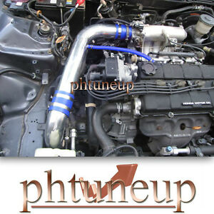 BLUE fit 1994-2001 ACURA INTEGRA GS LS RS 1.8 1.8L COLD AIR INTAKE KIT SYSTEMS