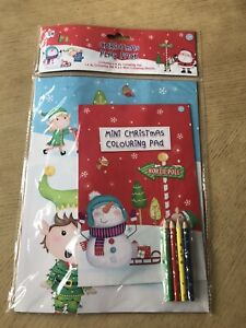 Christmas Play Pack Kids Colouring Fun