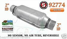 "92774 Eastern Universal Catalytic Converter ECO III Catalyst 2"" Pipe 12"" Body"