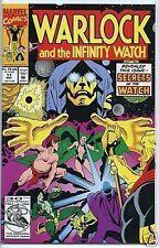 Warlock and the Infinity Watch 1992 series # 11 near mint comic book