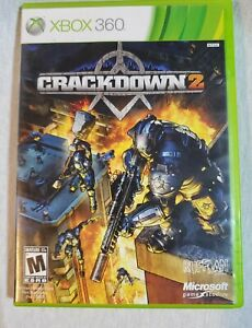 Crackdown 2 (Microsoft Xbox 360, 2010)  CIB. Complete. Good Condition