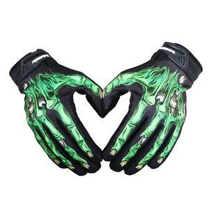 Outdoor Cycling Motorcycle Racing Skeleton Skull Bone Mechanic Sports Gloves