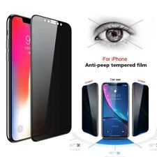 Anti Spy Privacy Tempered Glass Screen Protector iPhone 7 X XR XS Max 11 Pro Max