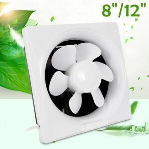 8''/12'' Extractor Fan Ventilation Extraction Fan Silent Kitchen Bathroom Fan