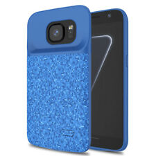 For Samsung Galaxy S7 Battery Case 4700mAh Slim Extended Charger Backup Blue
