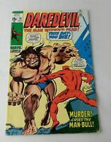 1971 Daredevil #79 Marvel 2nd Man-Bull Comic Book VG FN