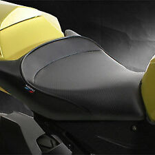SARGENT SEAT FOR BMW S1000RR, 10-11,CarbonFX/Black welt/BMW tag. WS-576-19