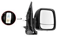 heizbar 8pin lackierbar groß für Fiat Doblo ab 10 C Prasco Spiegel links Elektr