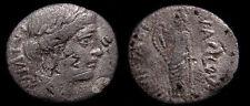 COLLECTIBLE ROMAN REPUBLICAN COIN, MANIUS ACILIUS GLABRIO, 49 BC. AR Denarius+++