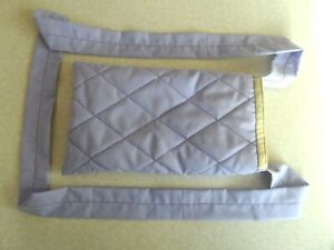 Syringe Driver Bags, Quilted for Comfort & Protection, Lilac / Light Green