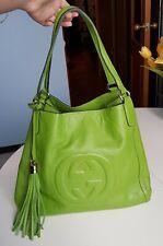 Gucci soho green shoulder bag